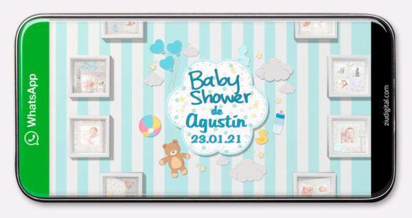 Invitaciones Animadas Baby Shower